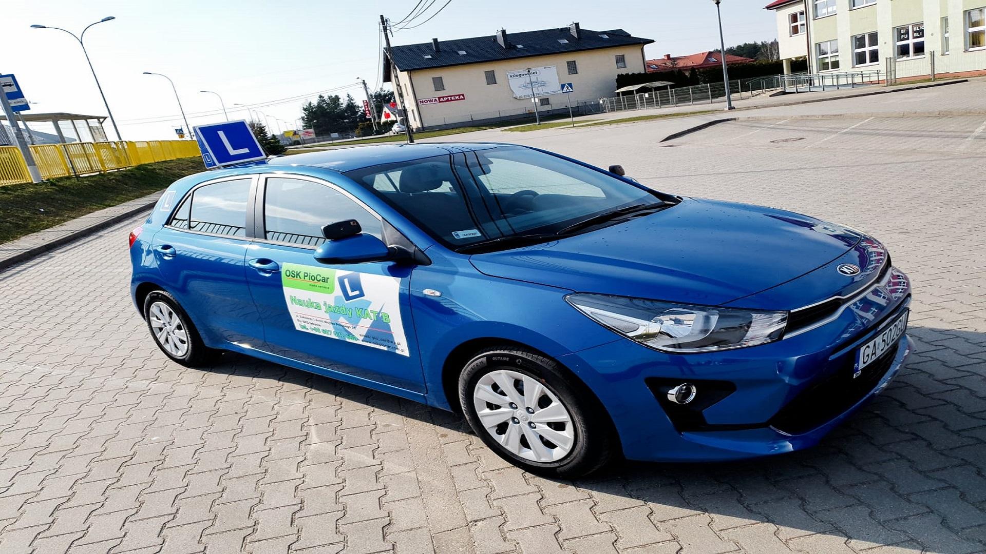 Kurs prawa jazdy Gdynia kat. B